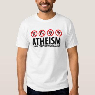 El ateísmo: Una organización del No-Profeta Camisas