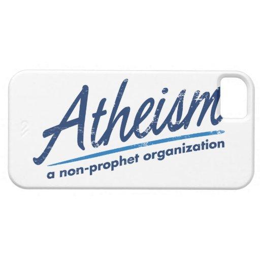 El ateísmo una organización del no-profeta iPhone 5 carcasas