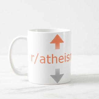 El ateísmo Upvote Tazas De Café