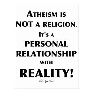 El ateísmo y realidad postales