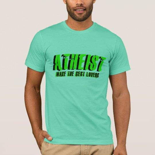 El ateo hace a los mejores amantes playera