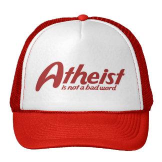 El ateo no es una mala palabra gorro