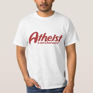 El ateo no es una mala palabra playera