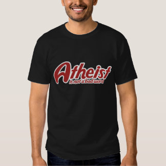 El ateo no es una mala palabra poleras