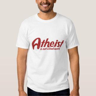 El ateo no es una mala palabra remera