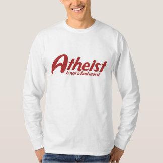 El ateo no es una mala palabra remeras