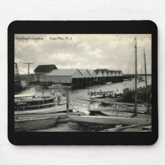 El aterrizaje de Schellinger, Cape May, vintage de Tapetes De Raton