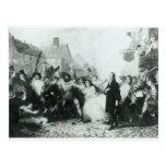 El atestar de John Wesley en Wednesbury Tarjeta Postal