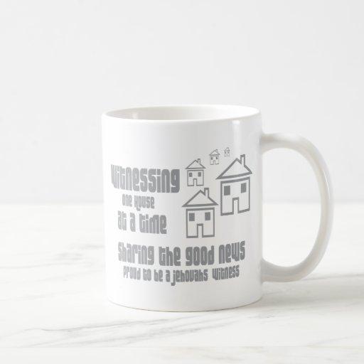 El atestiguar del testigo de Jehová Taza De Café