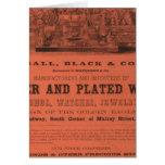 El atlas americano de Colton de la guarnición Tarjeta De Felicitación