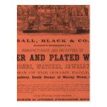 El atlas americano de Colton de la guarnición Tarjetas Postales