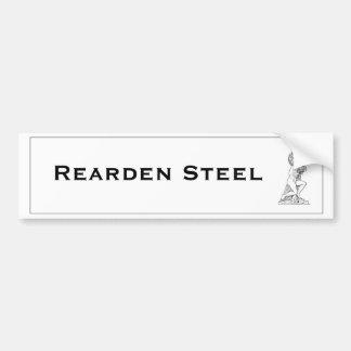El atlas de acero de Rearden encogió a la pegatina Pegatina Para Auto