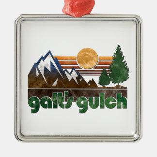 El atlas de Colorado de la quebrada de Galt encogi Ornamento De Navidad