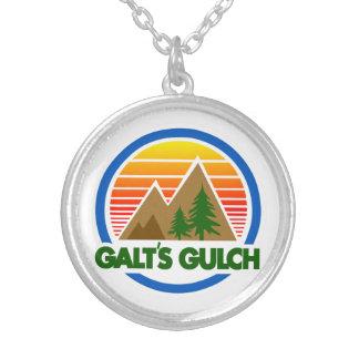 El atlas de la quebrada de Galt encogió el collar