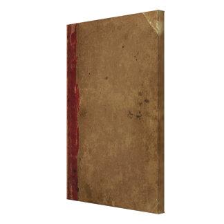 El atlas general de Carey Impresión En Lona Estirada