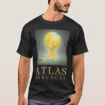 El atlas oficial encogió el negro T del icono de Playera