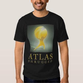 El atlas oficial encogió el negro T del icono de Playeras