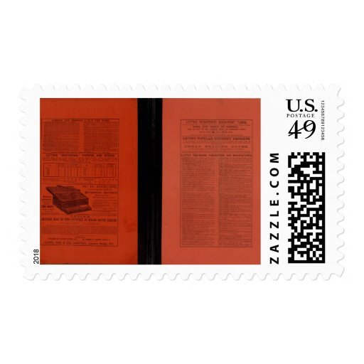El atlas popular 2 de Letts Timbre Postal