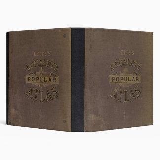 "El atlas popular de Letts Carpeta 1 1/2"""