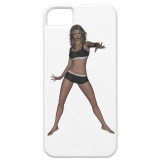 El atleta 001 iPhone 5 carcasa
