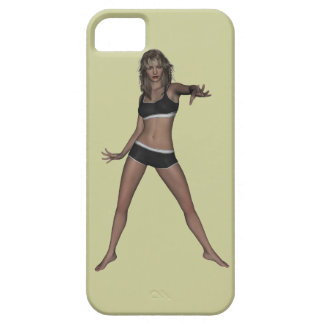El atleta 003 iPhone 5 Case-Mate protectores