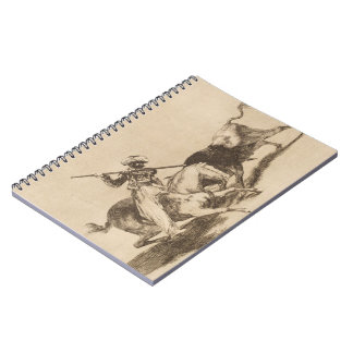 El atrevimiento amarra Gazul era el primer para al Cuadernos