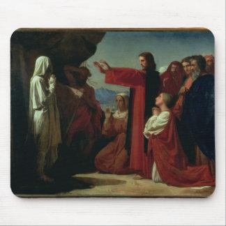 El aumento de Lazarus, 1857 Alfombrillas De Ratones