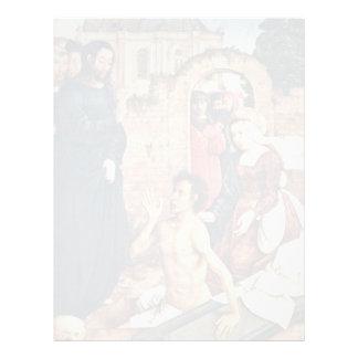 El aumento de Lazarus de Flandes Juan De (el mejor Membretes Personalizados