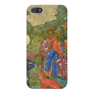 El aumento de Lazarus, icono ruso iPhone 5 Fundas
