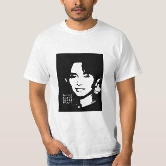 el aung cantó a Suu Kyi el líder negro de Birmania Poleras