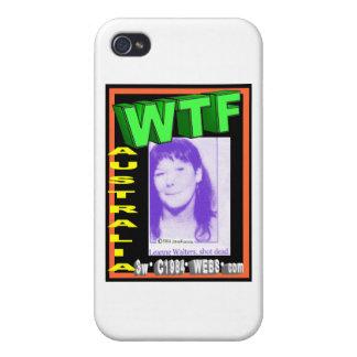 El aUnwin de Allen robó mi foto su no Leanne Walte iPhone 4 Protectores