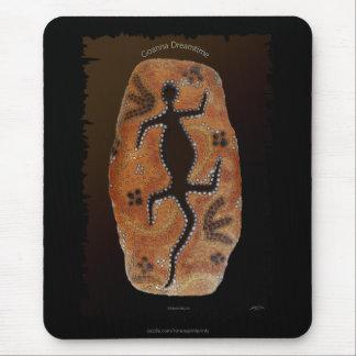 El australiano Aborigen-diseñó interior arte del d Alfombrillas De Ratón