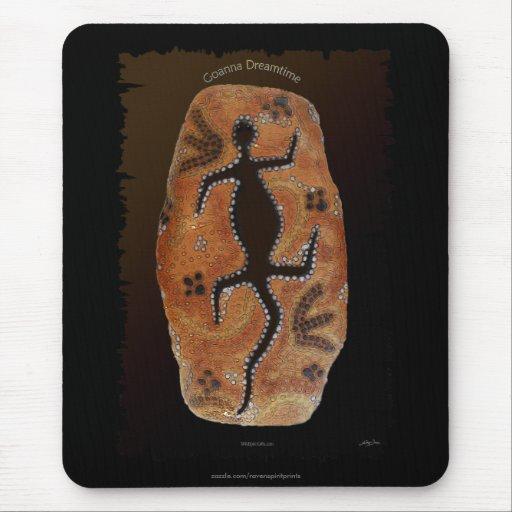 El australiano Aborigen-diseñó interior arte del d Tapete De Ratones