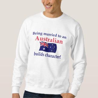El australiano construye el carácter suéter