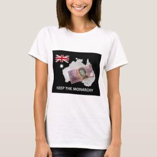 El australiano guarda el logotipo de la monarquía playera