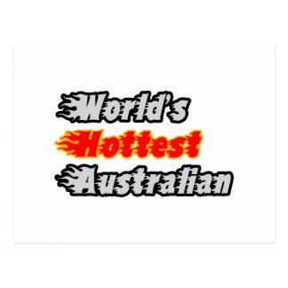 El australiano más caliente del mundo postal