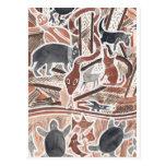 El australiano soña #1 postal