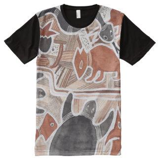 El australiano soña la camisa de la serpiente de