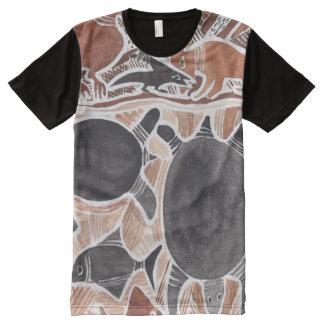 El australiano soña la camisa de los pescados de