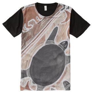 El australiano soña la camisa grande de la tortuga