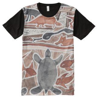 El australiano soña la camisa mítica de la tortuga