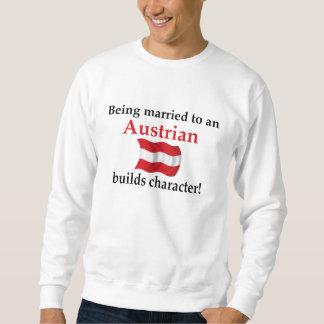 El austriaco construye el carácter suéter