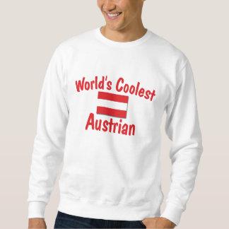El austriaco más fresco sudadera con capucha