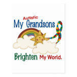 El autismo ACLARA a MIS nietos del MUNDO 1 Postales