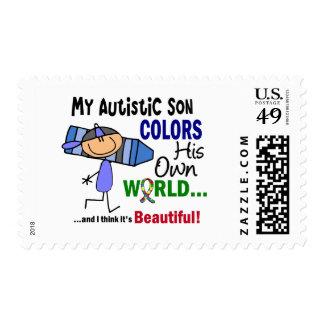 El autismo COLOREA a SU PROPIO hijo del MUNDO