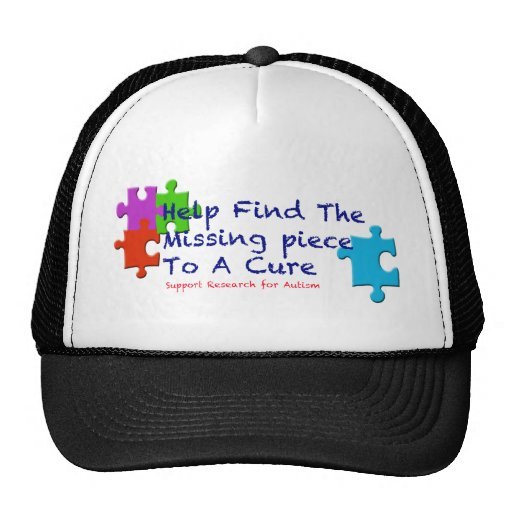 El autismo de la ayuda encuentra una curación gorras