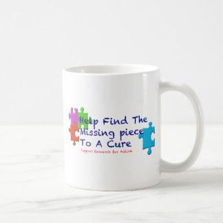 El autismo de la ayuda encuentra una curación taza clásica