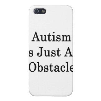 El autismo es apenas un obstáculo iPhone 5 carcasas