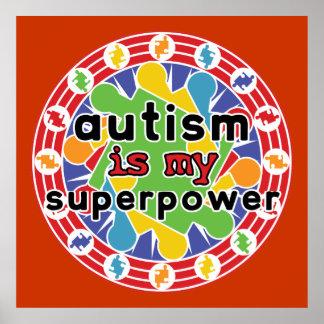 El autismo es mi superpoder impresiones