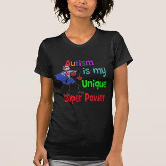 El autismo es mi superpoder único playera